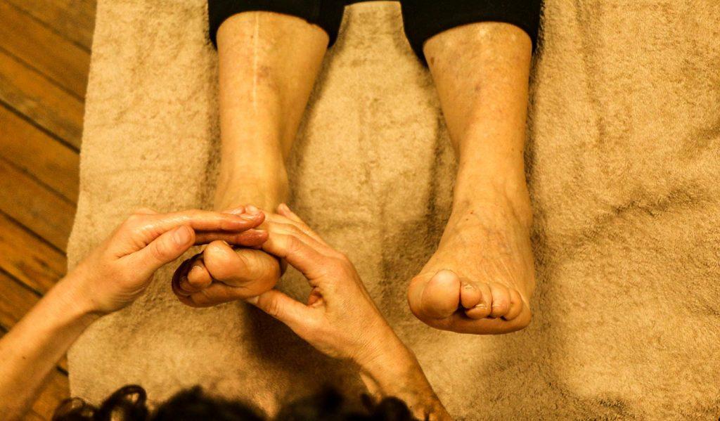 Massage et réflexologie institution